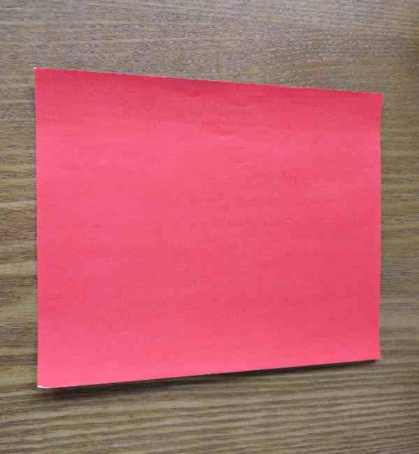 ハートキティの折り紙の作り方折り方 (1)