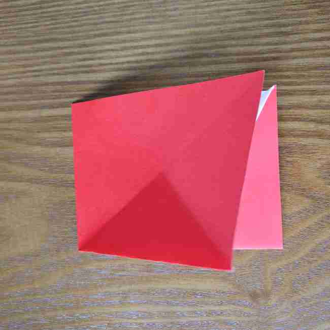 ハートキティの折り紙の作り方折り方 (11)