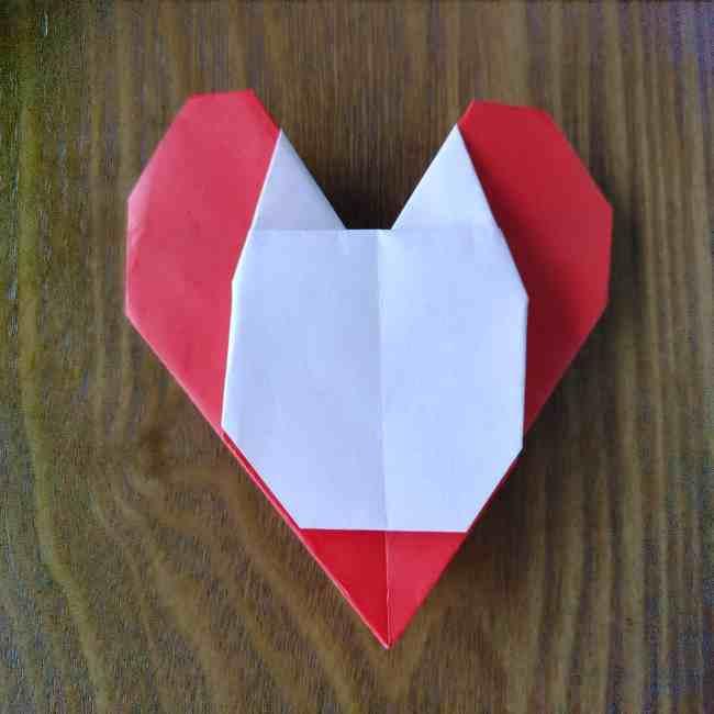 ハートキティの折り紙の作り方折り方 (18)