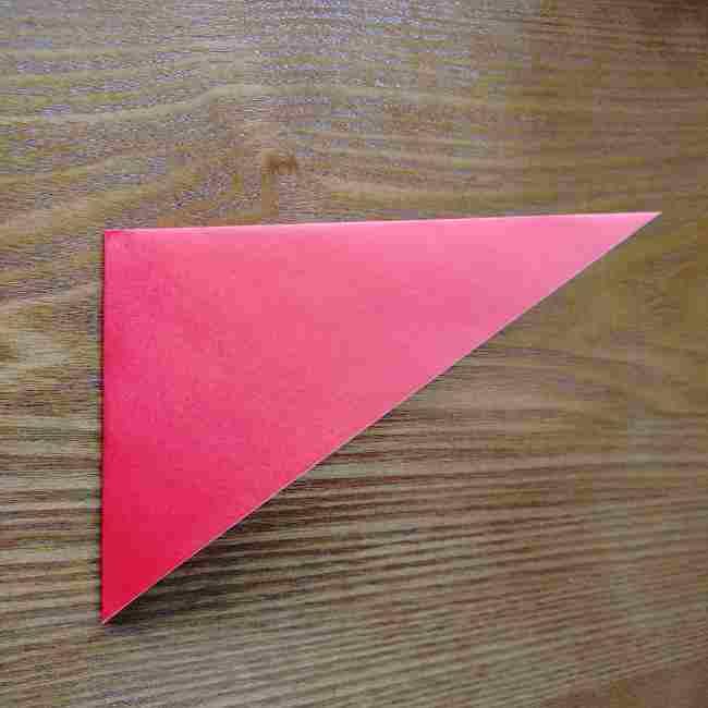 ハートキティの折り紙の作り方折り方 (3)