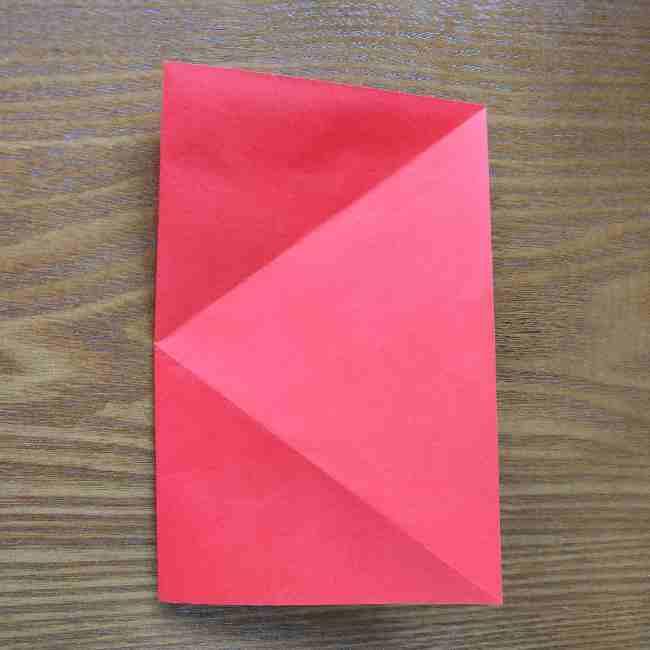 ハートキティの折り紙の作り方折り方 (4)