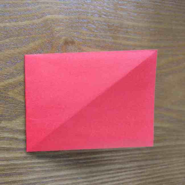 ハートキティの折り紙の作り方折り方 (5)
