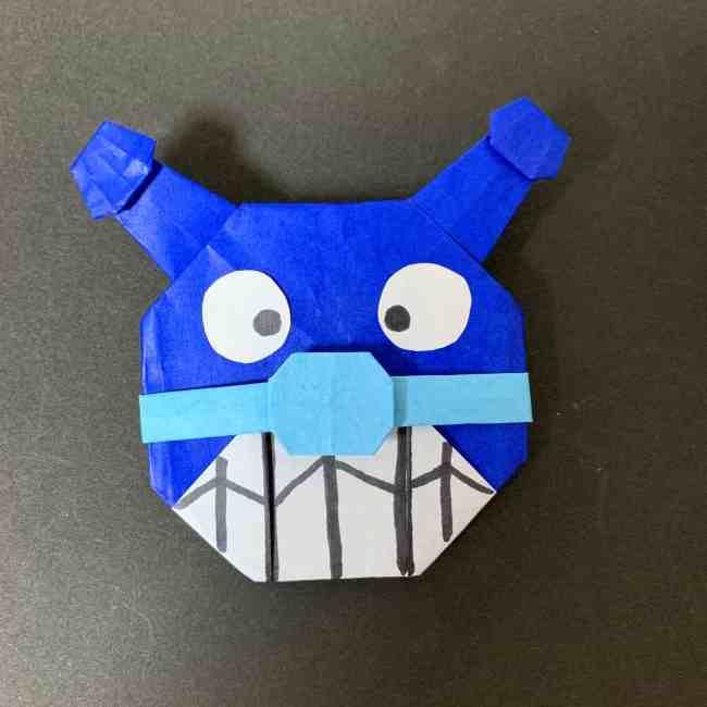バイキンマンの折り紙 簡単な折り方作り方☆アンパンマンのかわいい悪役♪