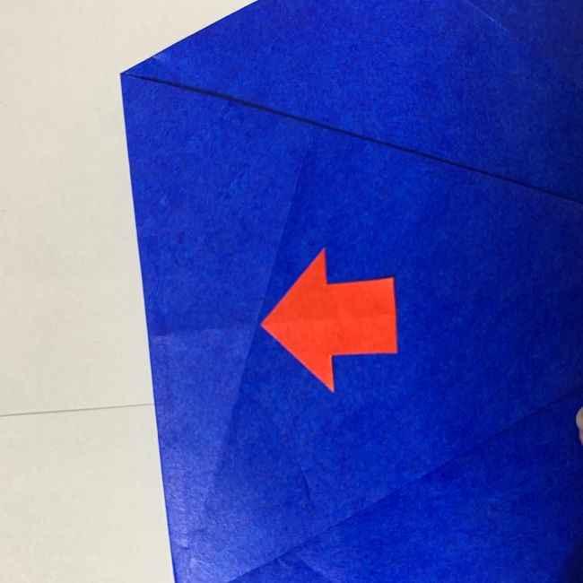 バイキンマンの折り紙 簡単な折り方作り方 (12)