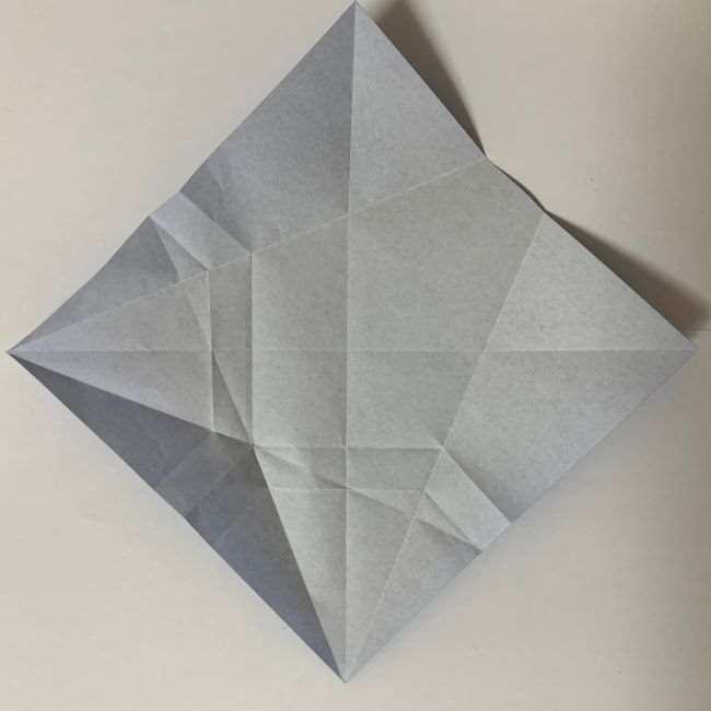 バイキンマンの折り紙 簡単な折り方作り方 (14)