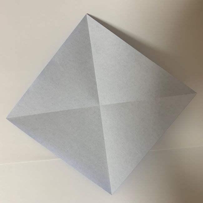 バイキンマンの折り紙 簡単な折り方作り方 (2)