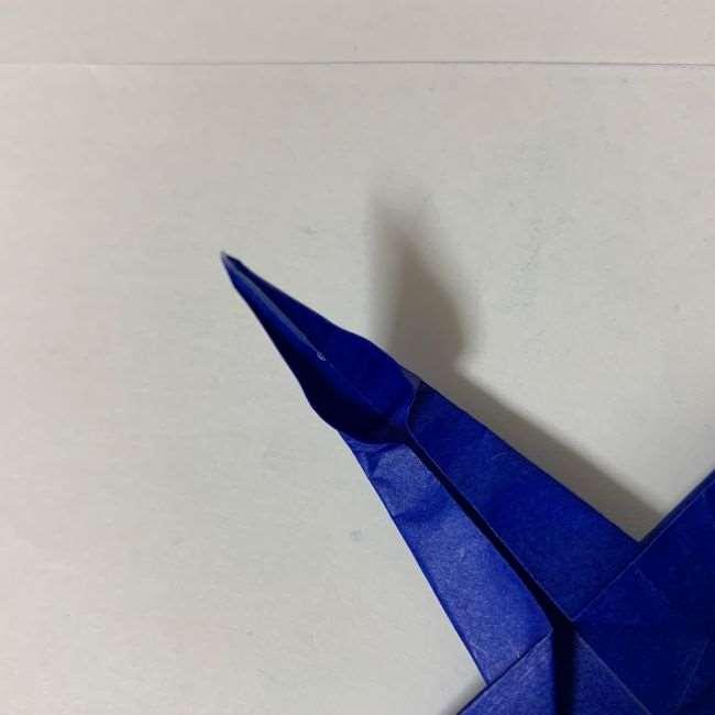 バイキンマンの折り紙 簡単な折り方作り方 (23)