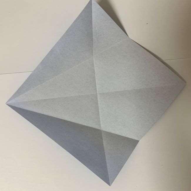 バイキンマンの折り紙 簡単な折り方作り方 (4)