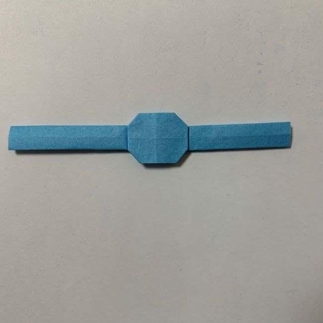 バイキンマンの折り紙 簡単な折り方作り方 (50)
