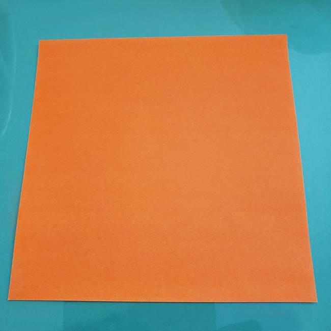 ヒトカゲの折り紙の簡単な折り方作り方②からだ(1)