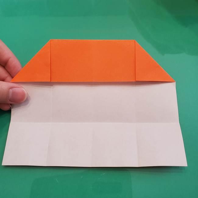 ヒトカゲの折り紙の簡単な折り方作り方②からだ(11)