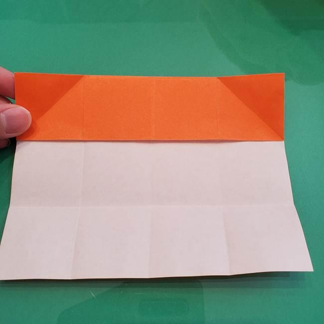 ヒトカゲの折り紙の簡単な折り方作り方②からだ(12)