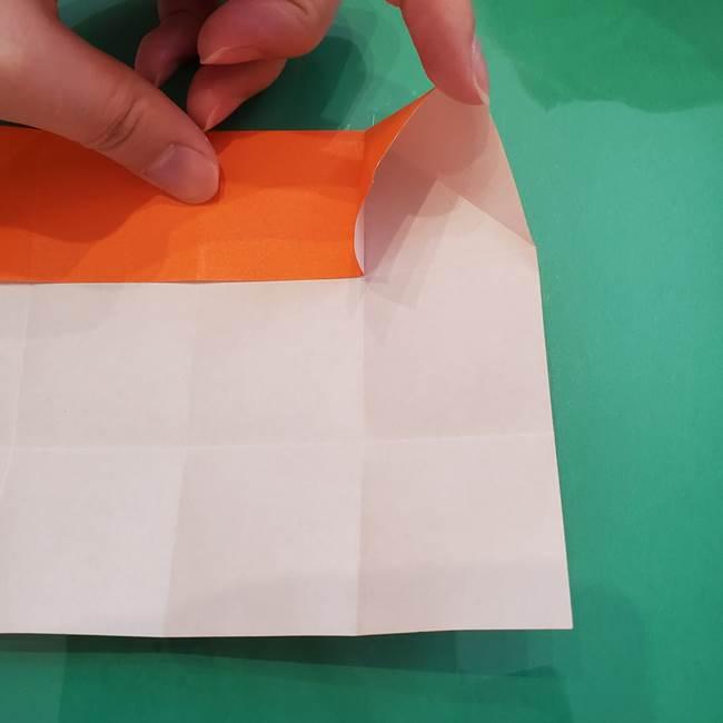 ヒトカゲの折り紙の簡単な折り方作り方②からだ(13)