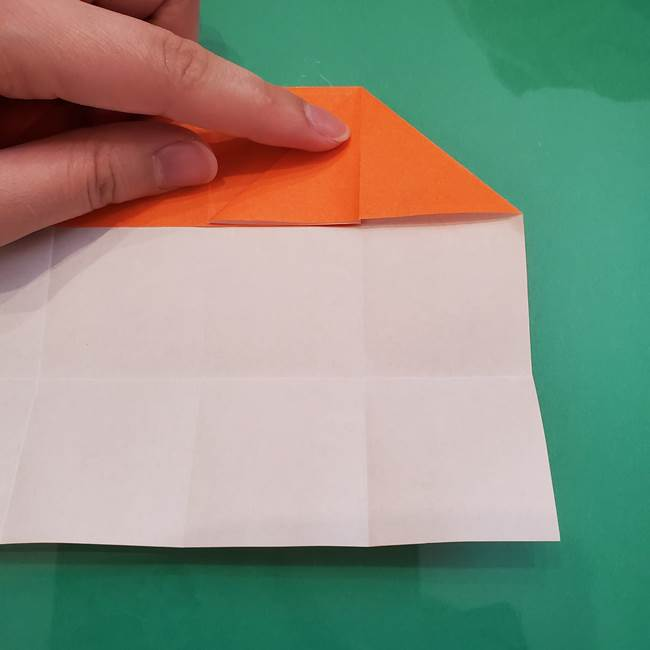 ヒトカゲの折り紙の簡単な折り方作り方②からだ(14)