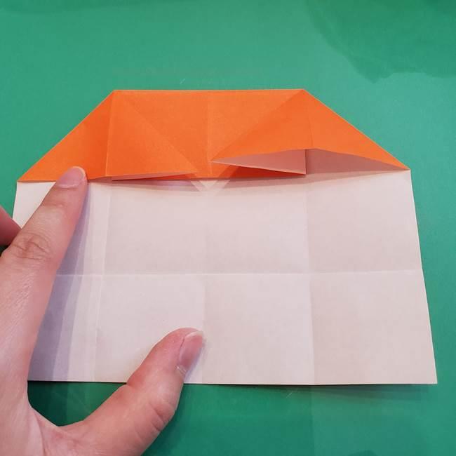 ヒトカゲの折り紙の簡単な折り方作り方②からだ(15)