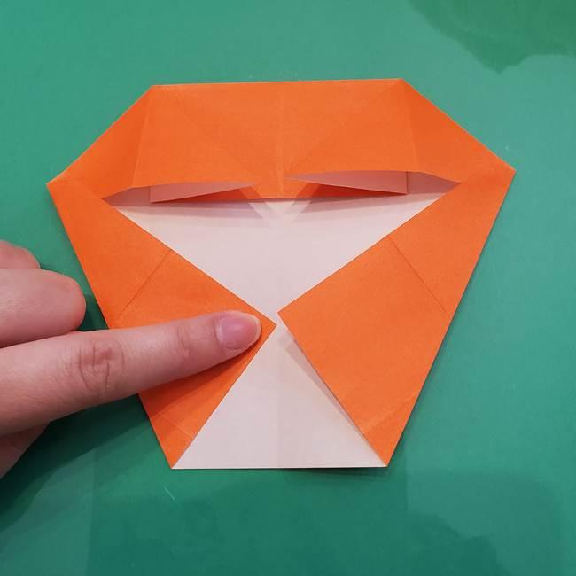 ヒトカゲの折り紙の簡単な折り方作り方②からだ(16)