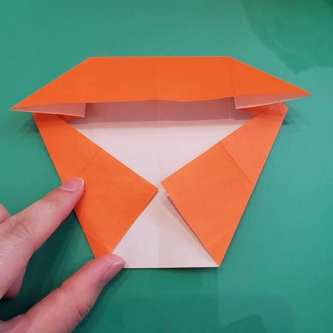 ヒトカゲの折り紙の簡単な折り方作り方②からだ(18)