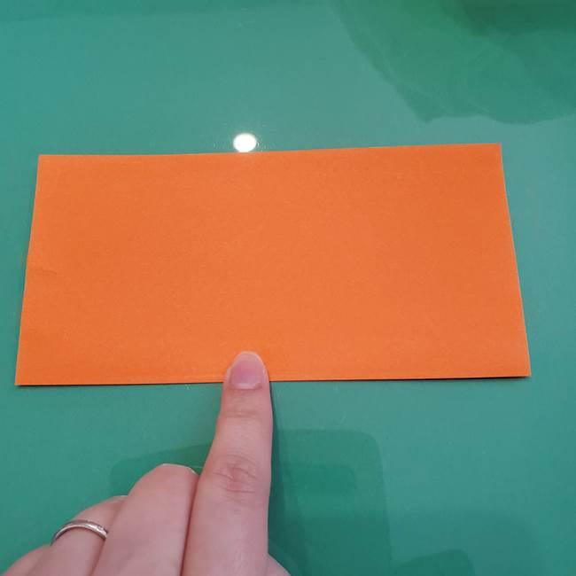 ヒトカゲの折り紙の簡単な折り方作り方②からだ(2)