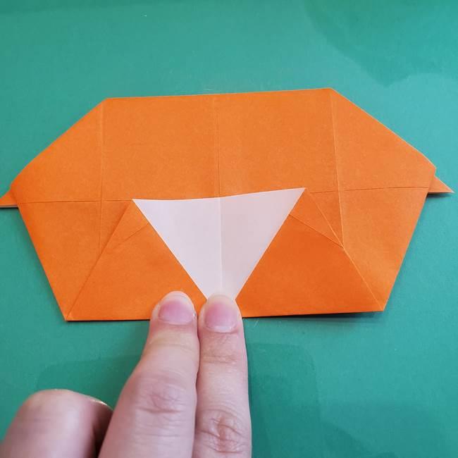 ヒトカゲの折り紙の簡単な折り方作り方②からだ(20)