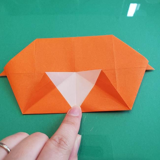 ヒトカゲの折り紙の簡単な折り方作り方②からだ(22)