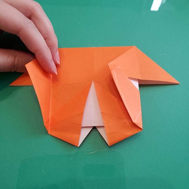 ヒトカゲの折り紙の簡単な折り方作り方②からだ(26)
