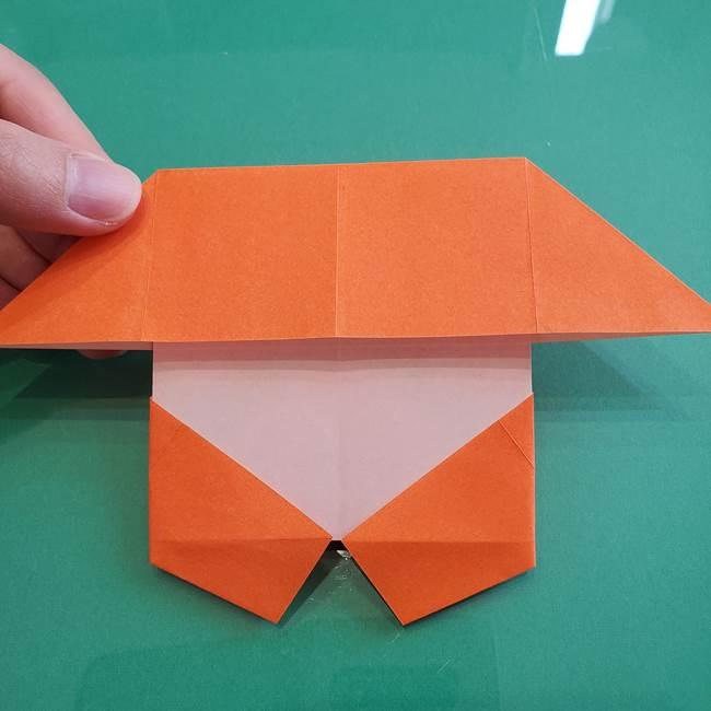 ヒトカゲの折り紙の簡単な折り方作り方②からだ(28)