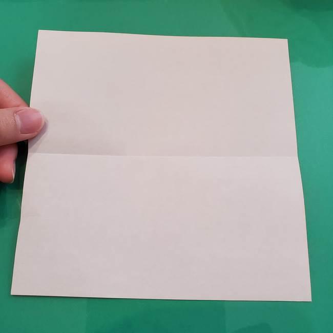 ヒトカゲの折り紙の簡単な折り方作り方②からだ(3)