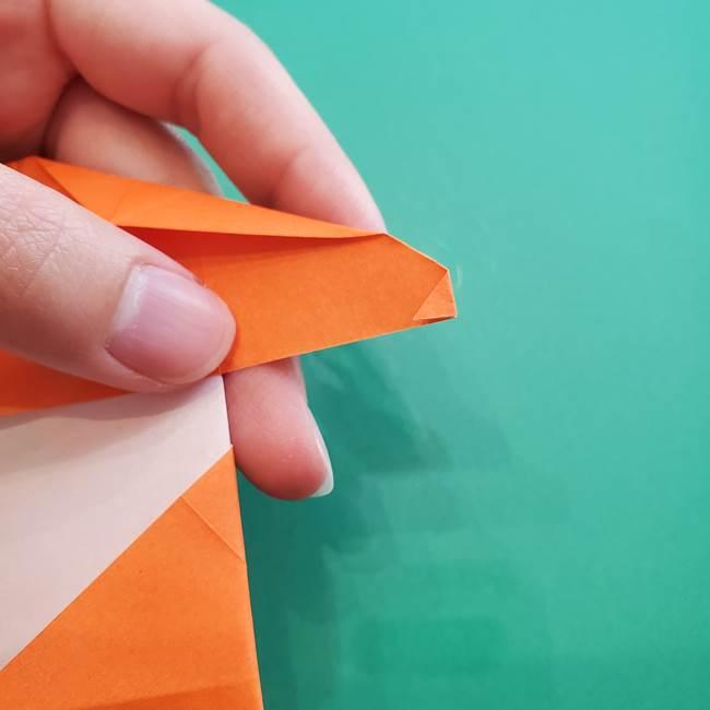 ヒトカゲの折り紙の簡単な折り方作り方②からだ(30)