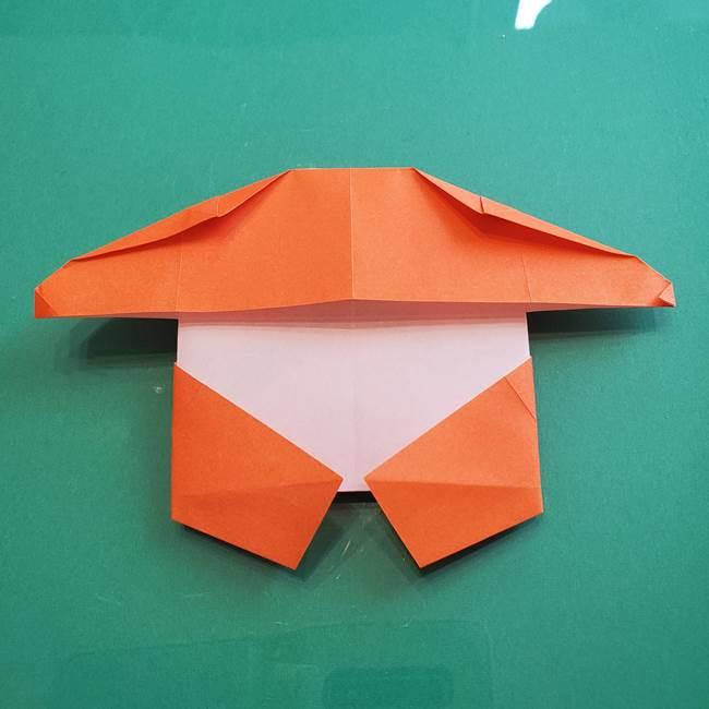 ヒトカゲの折り紙の簡単な折り方作り方②からだ(31)