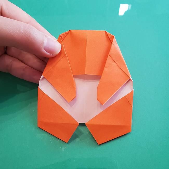 ヒトカゲの折り紙の簡単な折り方作り方②からだ(32)