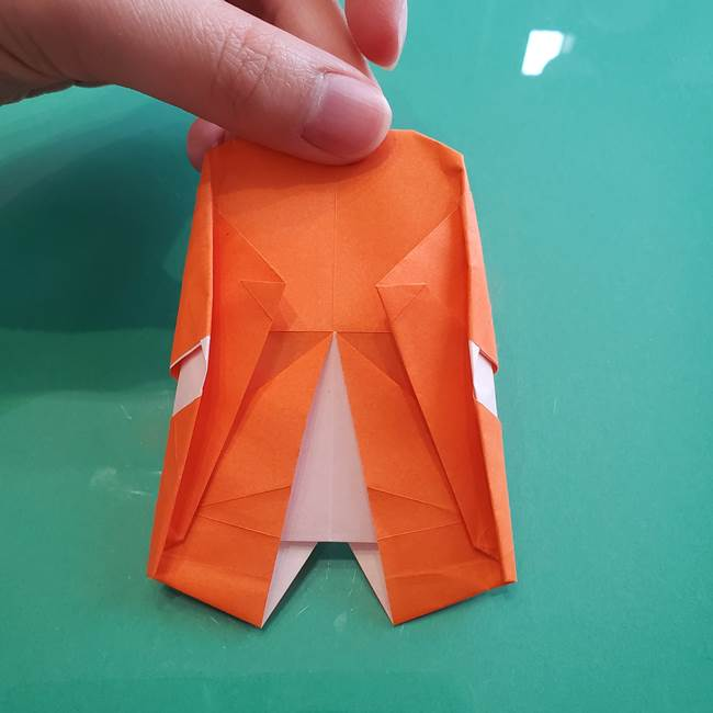 ヒトカゲの折り紙の簡単な折り方作り方②からだ(34)