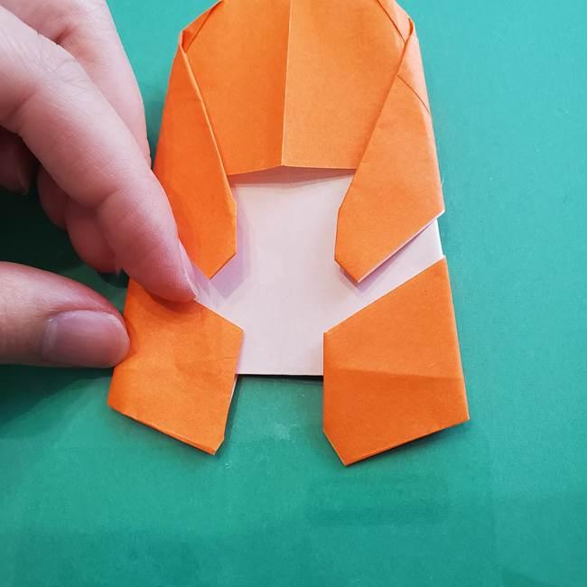 ヒトカゲの折り紙の簡単な折り方作り方②からだ(36)