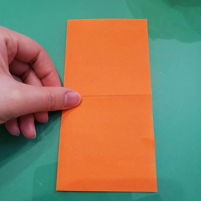 ヒトカゲの折り紙の簡単な折り方作り方②からだ(4)