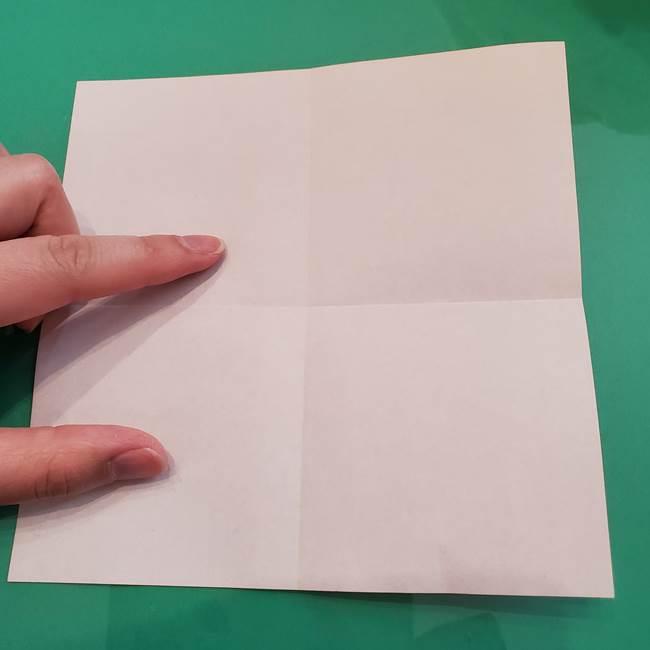 ヒトカゲの折り紙の簡単な折り方作り方②からだ(5)