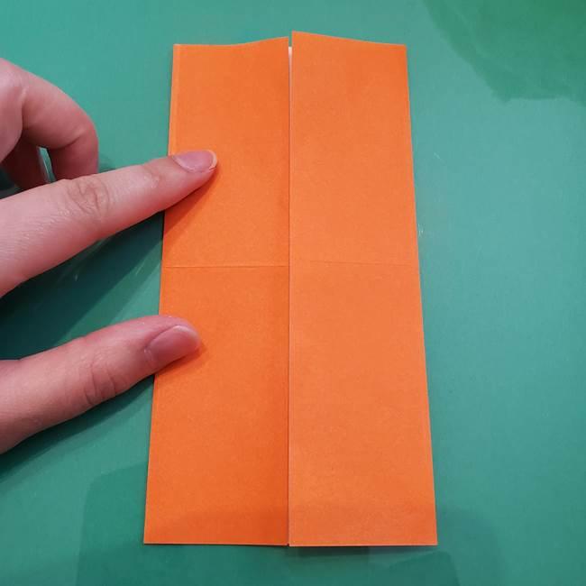 ヒトカゲの折り紙の簡単な折り方作り方②からだ(6)