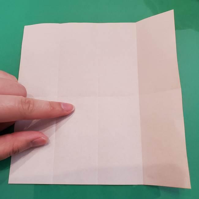 ヒトカゲの折り紙の簡単な折り方作り方②からだ(7)