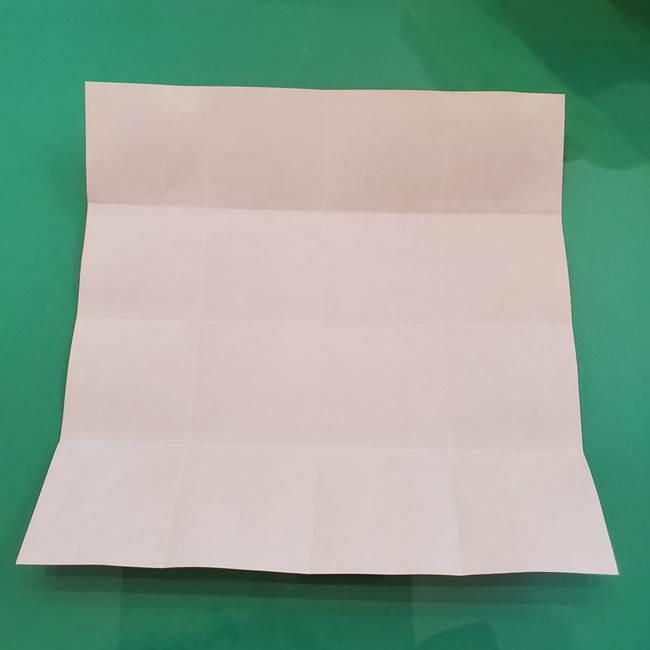 ヒトカゲの折り紙の簡単な折り方作り方②からだ(9)