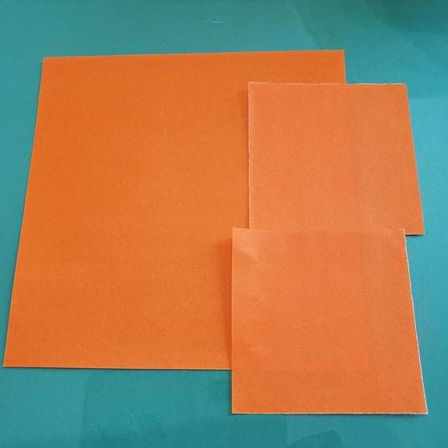 ヒトカゲの折り紙は簡単♪(1)