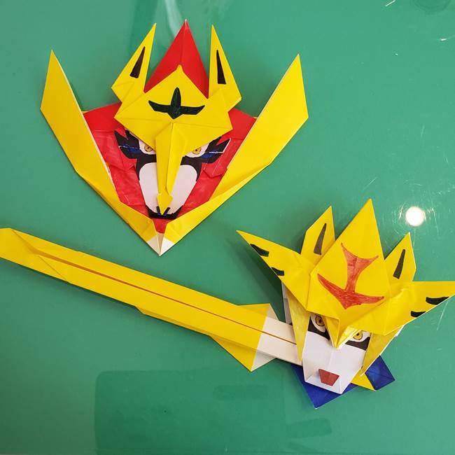 ポケモンの折り紙ザシアンは簡単?まとめと作り方動画