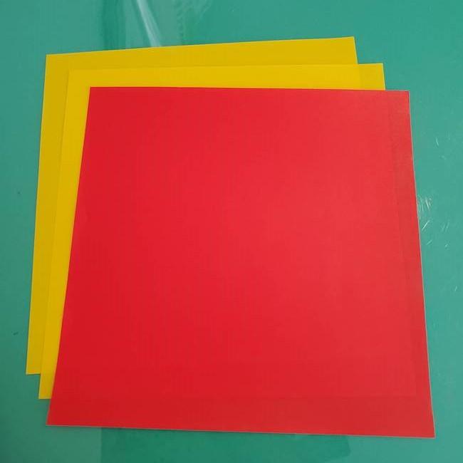 ポケモンの折り紙ザマゼンタ*用意するもの(1)