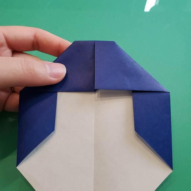 ポケモンの折り紙 カビゴンの簡単な折り方作り方(12)