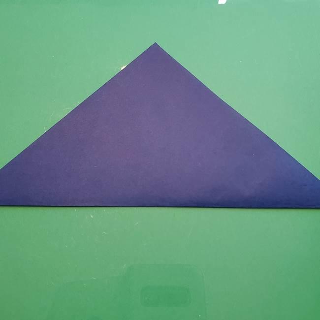 ポケモンの折り紙 カビゴンの簡単な折り方作り方(2)
