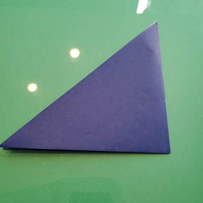 ポケモンの折り紙 カビゴンの簡単な折り方作り方(3)