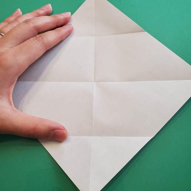 ポケモンの折り紙 カビゴンの簡単な折り方作り方(6)