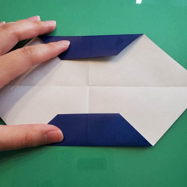 ポケモンの折り紙 カビゴンの簡単な折り方作り方(8)