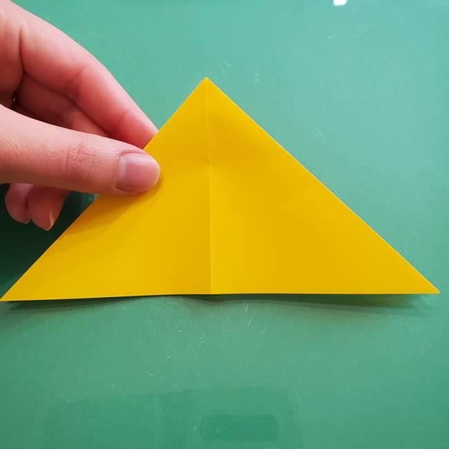 ポケモンの折り紙 ニャビーの折り方作り方①折り方(10)
