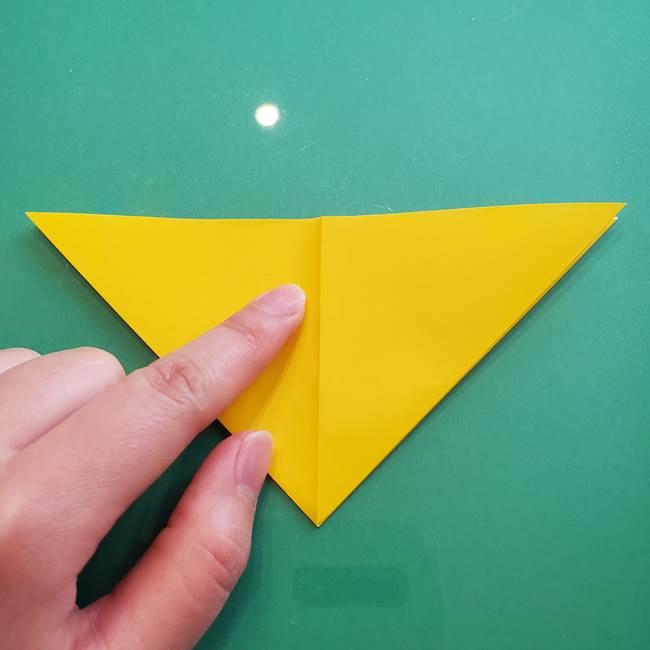 ポケモンの折り紙 ニャビーの折り方作り方①折り方(11)