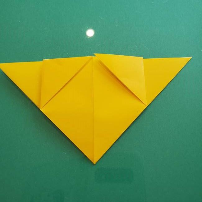 ポケモンの折り紙 ニャビーの折り方作り方①折り方(12)