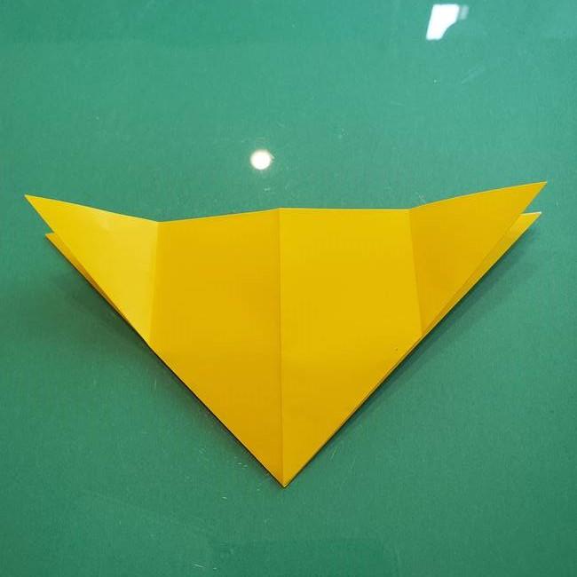 ポケモンの折り紙 ニャビーの折り方作り方①折り方(13)