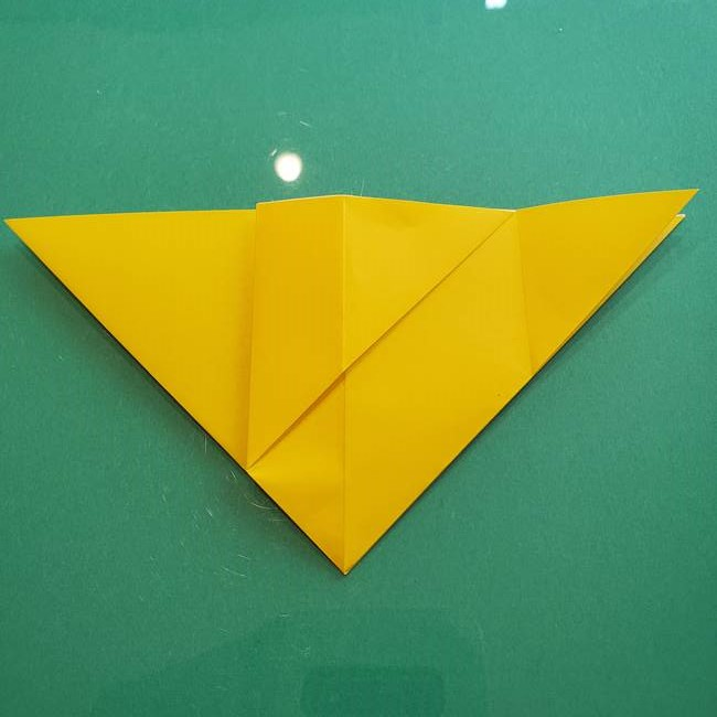 ポケモンの折り紙 ニャビーの折り方作り方①折り方(14)